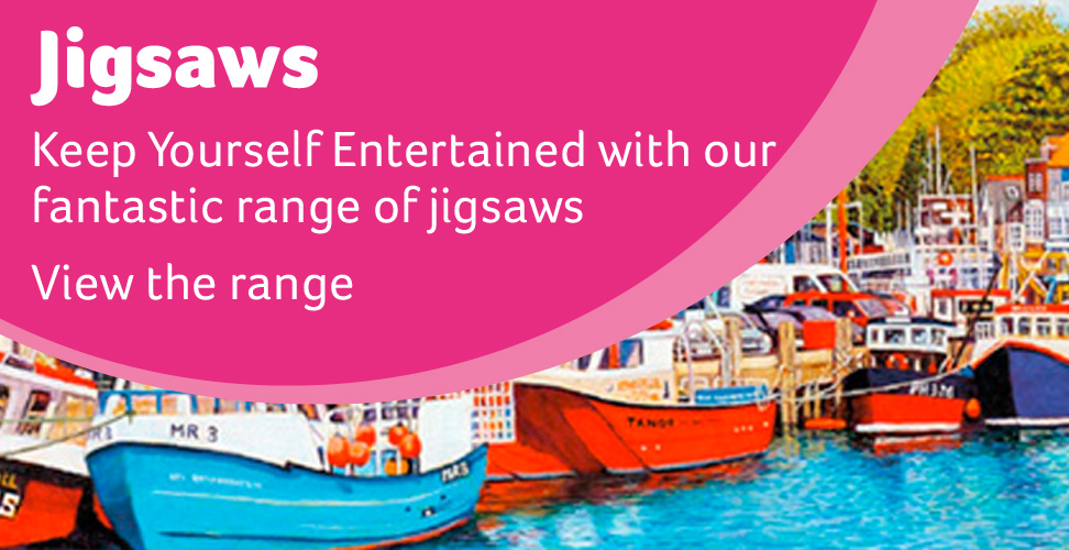 Keep Yourself Entertained with our fantastic range of jigsaws